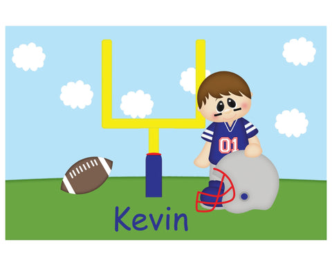 Football Boy Kids Placemat