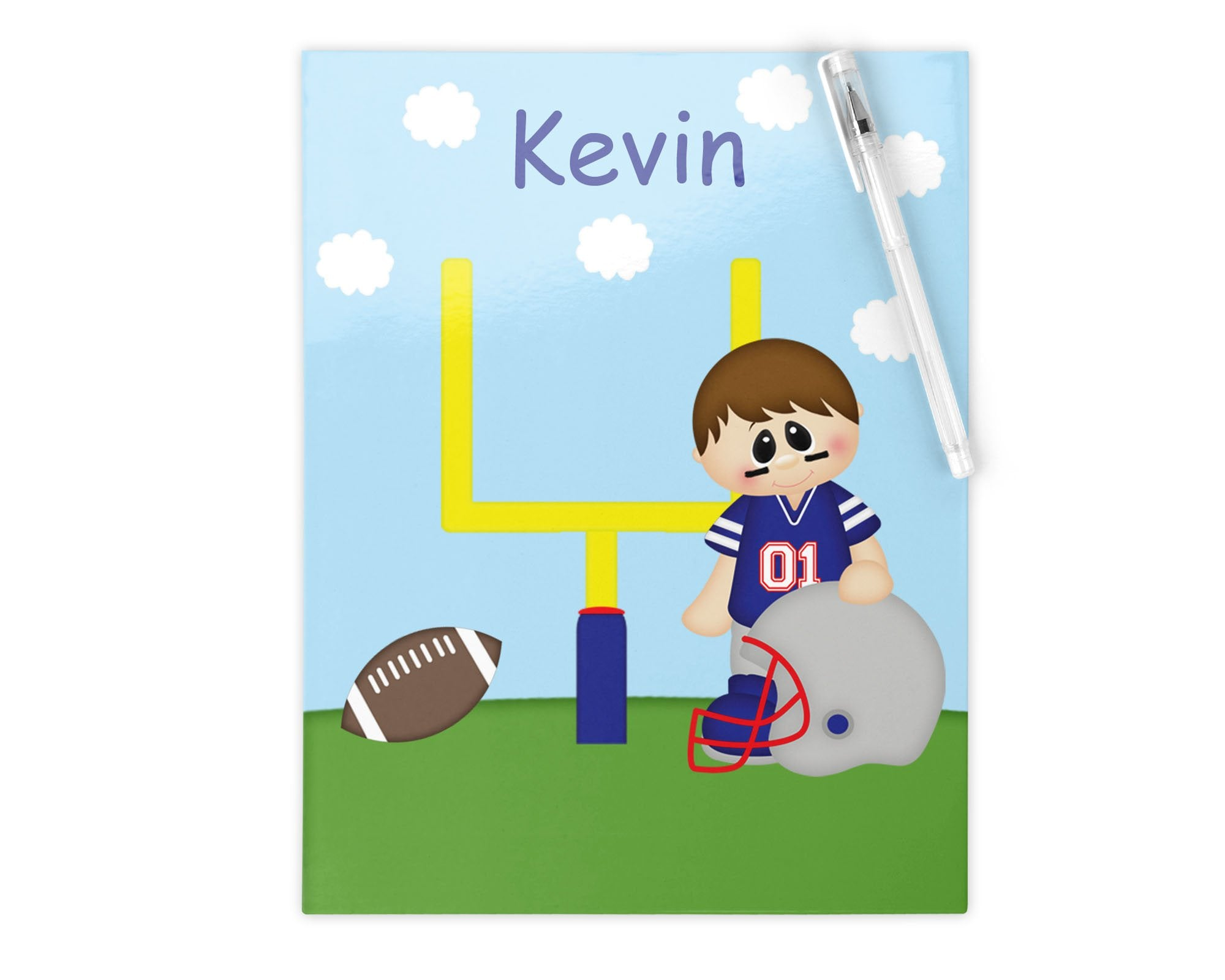 Football Boy Kids Folder
