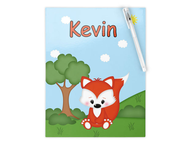 Cute Woodland Fox Kids Folder