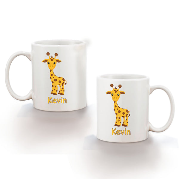 At the Zoo Giraffe Kids Mug
