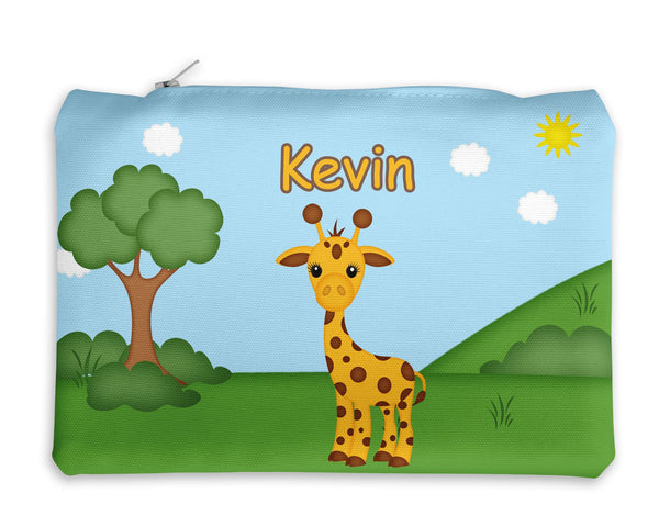 At the Zoo Giraffe Kids Pencil Case