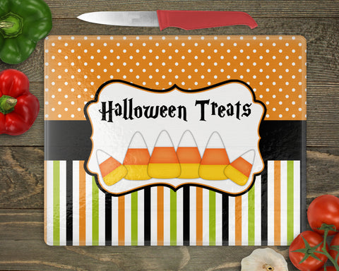 Halloween Candy Corn Personalized Cutting Board