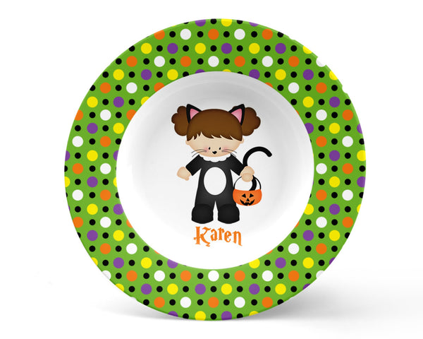 Catgirl Hallowen Kids Placemat