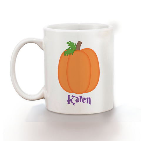 Halloween Pumpkin Kids Mug