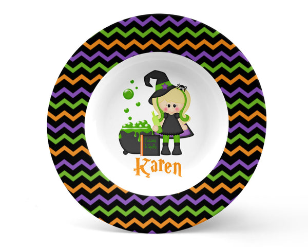 Witching You Halloween Kids Bowl