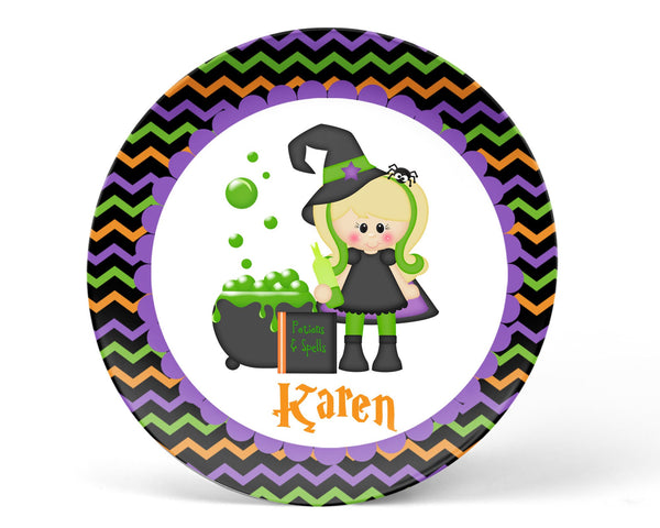 Witching You Halloween Kids Placemat