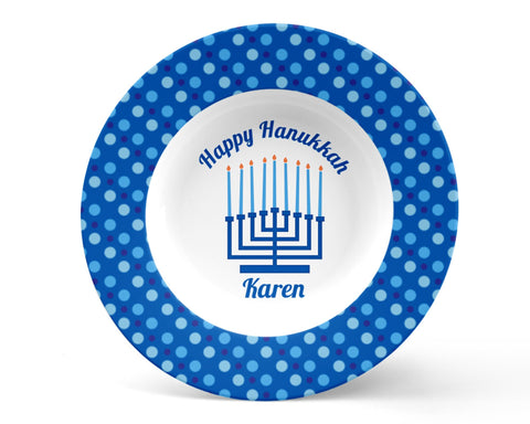 Hanukkah Minorah Kids Bowl
