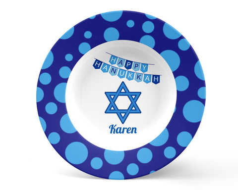 Hanukkah Star of David Kids Bowl