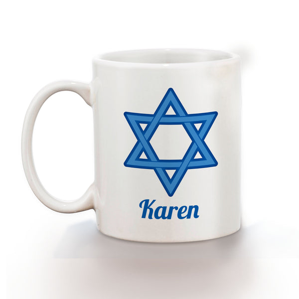 Hanukkah Star of David Kids Mug