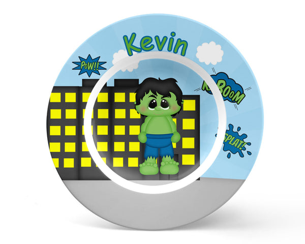 Hulk Superhero Kids Bowl