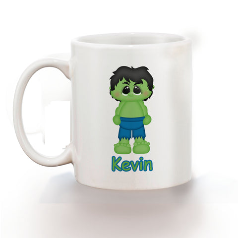 Hulk Superhero Kids Mug