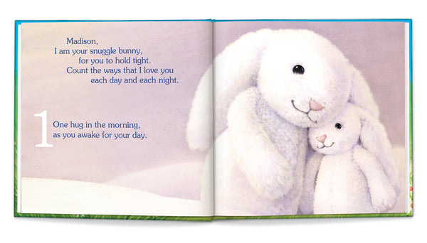 My Snuggle Bunny Personalized Story Book