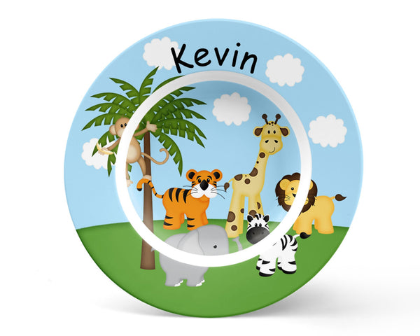 In the Jungle Kids Plate