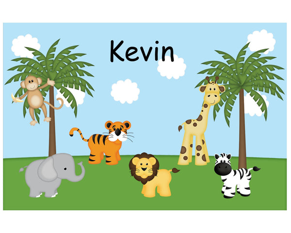 In the Jungle Kids Placemat