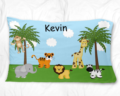 In the Jungle Pillow Case