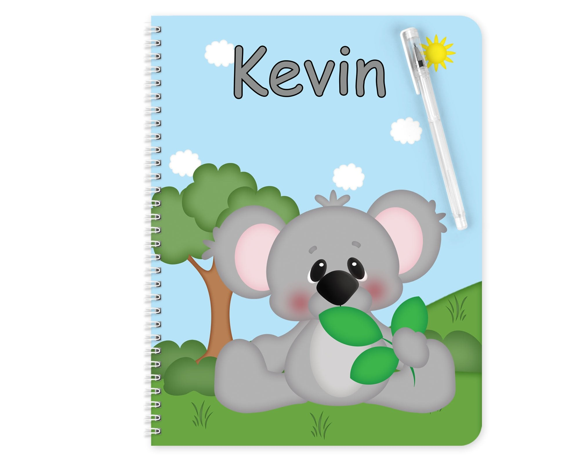 At the Zoo Koala Kids Notebook