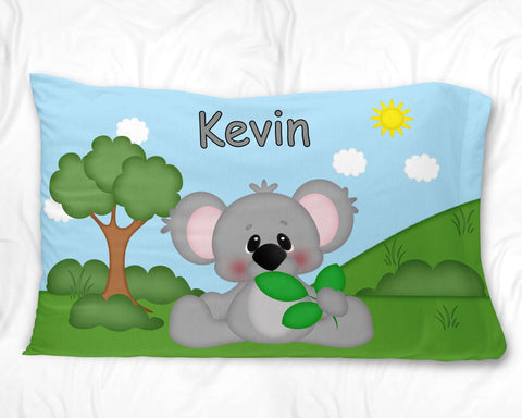 At the Zoo Koala Pillow Case