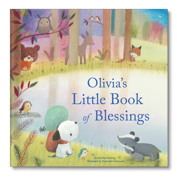 My Little Book of Blessings Personalized Story Book