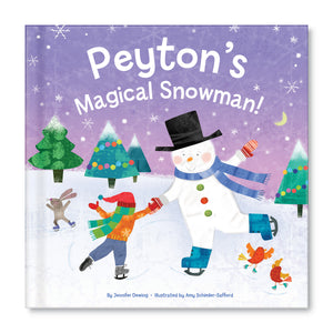 My Magical Snowman Personalized Story Book