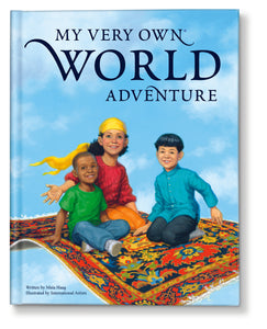 My Very Own World Adventure Story Personalized Book