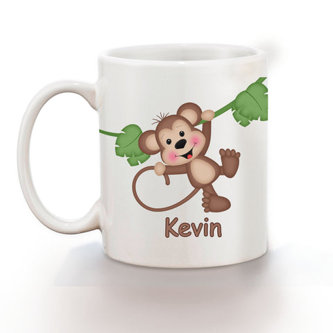 At the Zoo Monkey Kids Mug