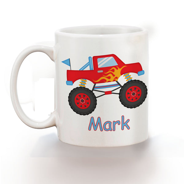 Monster Truck Kids Mug