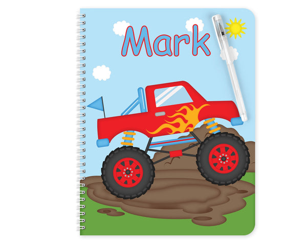 Monster Truck Kids Notebook