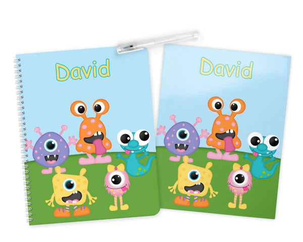 Silly Monsters Kids Notebook