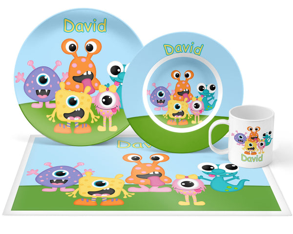 Silly Monsters Kids Placemat