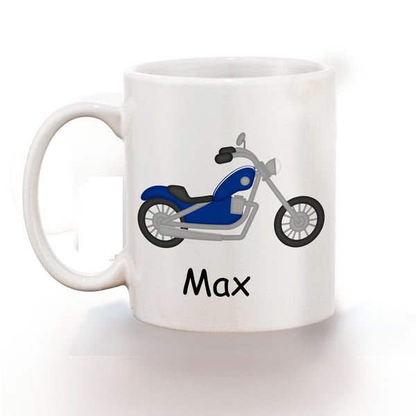 Lets Ride Motorcycle Kids Mug