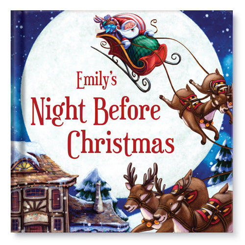 My Night Before Christmas Personalized Story Book