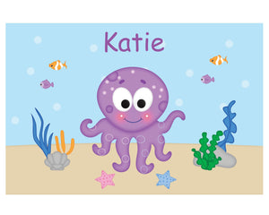 Octopus Kids Placemat