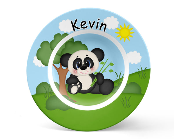 At the Zoo Panda Kids Placemat