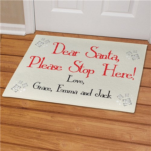 Christmas Doormats and Flags