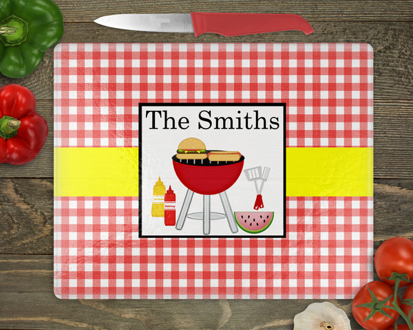 Picnic Personalized Cutting Board
