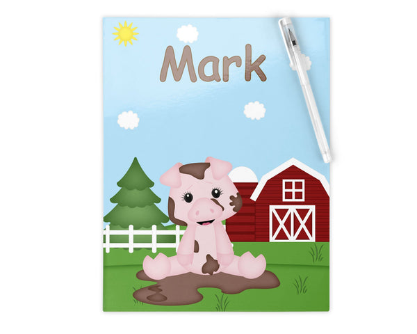 On the Farm Pig Kids Pencil Case