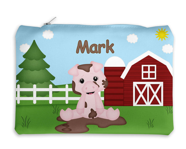 On the Farm Pig Kids Notebook