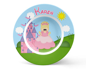 Princess Pink Kids Bowl