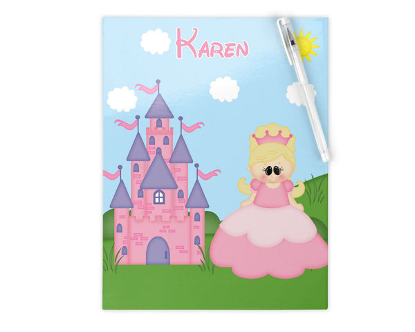 Princess Pink Kids Folder