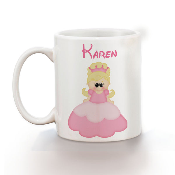 Princess Pink Kids Mug