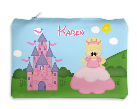Princess Pink Kids Pencil Case