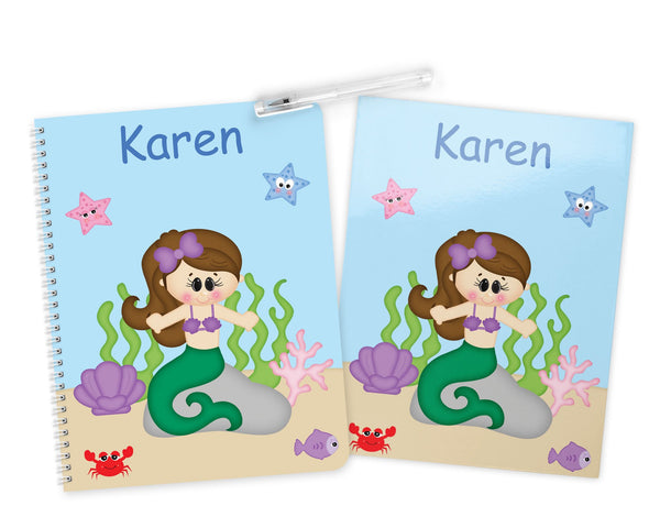 Under the Sea Princess Kids Folder