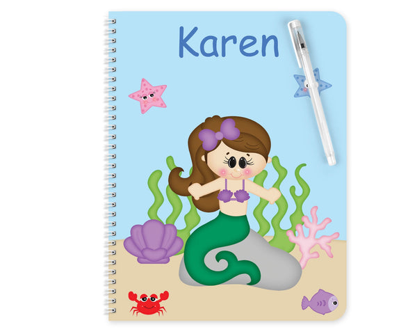 Under the Sea Princess Kids Notebook
