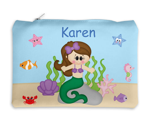 Under the Sea Princess Kids Pencil Case