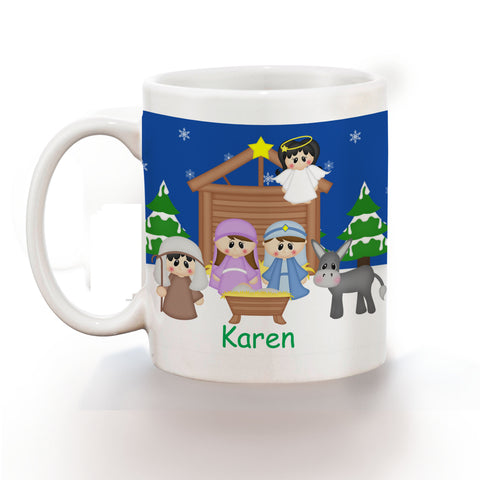 Christmas Nativity Kids Mug