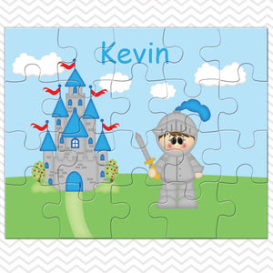 Knight Kids Personalized Puzzle