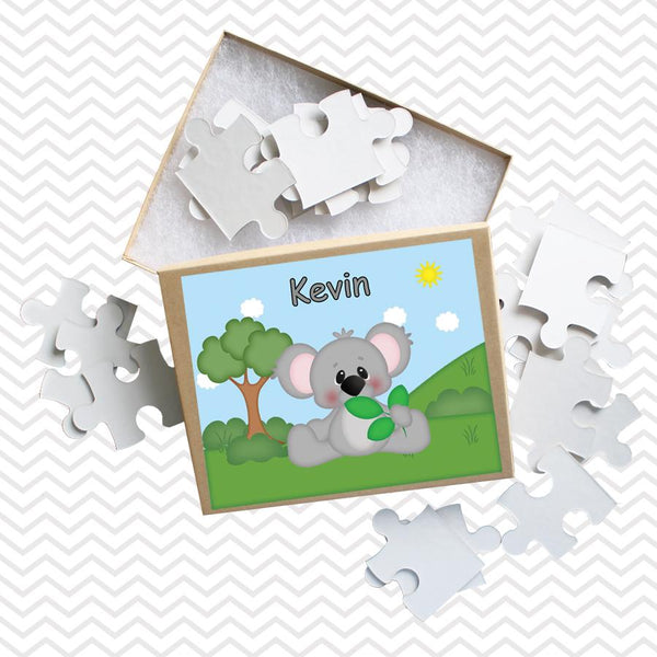 At the Zoo Koala Kids Personalized Puzzle