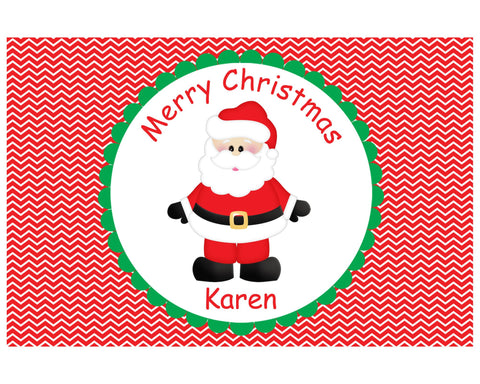 Christmas Santa Kids Placemat
