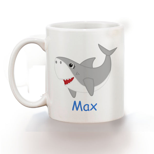 Shark Attach Kids Mug