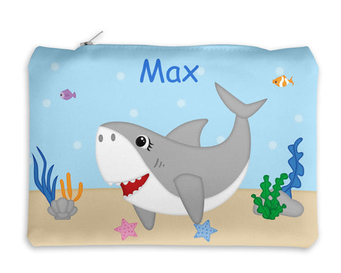 Shark Attach Kids Pencil Case